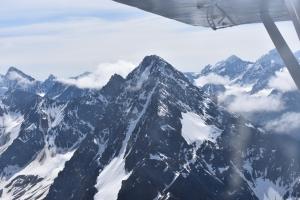 bush pilot, alaska range, live your adventure